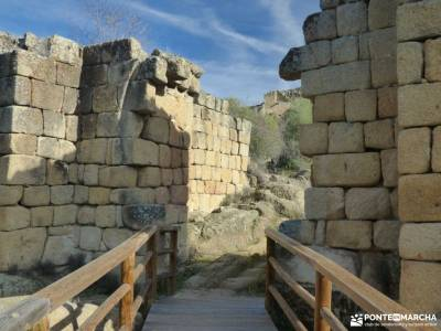 Ciudad de Vascos-Dolmen de Azután;excursiones de verano actividades senderismo accesorios senderism